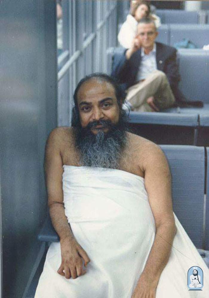 Swamiji in America